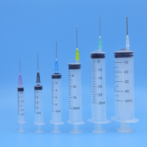 Disposable 3-Part Syinge